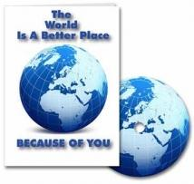 The World Is A Better Place - Card