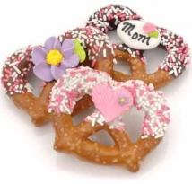 Mother's Day Chocolate & Caramel Pretzel