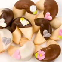 "Wedding Gourmet Fortune Cookies-""CLASSIC STYLE"""