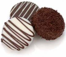 Classic Chocolate Dipped Oreos- Individually Wrapped