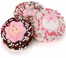 New Baby Girl Oreo� Cookies- Individually Wrapped