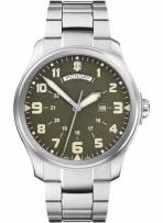 Infantry Vintage X Large Green Dial Day/Date Bracelet