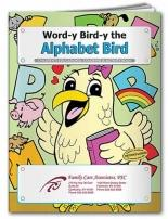 Coloring Book: Word-y Bird-y The Alphabet Bird