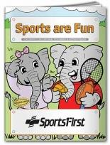 Coloring Book: Sports Are Fun