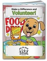 Coloring Book: Make A Difference & Volunteer