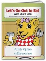 Coloring Book: Let's Go Out to Eat