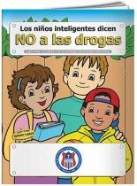 Coloring Book: Say NO to Drugs (Spanish)