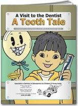 Coloring Book: A Tooth Tale