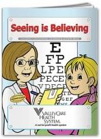 Coloring Book: Seeing Is Believing