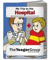 Coloring Book: My Trip to The Hospital