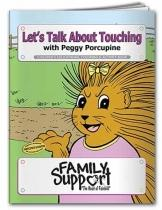 Coloring Book: Let's Talk About Touching