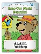 Coloring Book: Keep Our World Beautiful