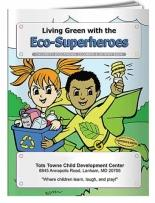 Coloring Book: Eco-Superheroes