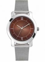 Mens & Ladies - Metal Case, Polished Silver Finish Watches