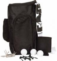 Deluxe Shoe Bag Kit W/ Titleist DT Solo Golf Balls
