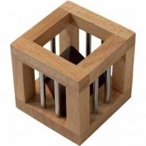 Wooden Cage Puzzle