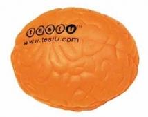 Neon Orange Brain Squeezie