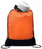 Two-Tone Drawstring Backpack, Full Color Digital