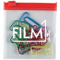 Number 1 Clip Multi-Color Clipsters in A Pouch