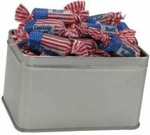 Rectangle Tin of Candy - Flag Toots