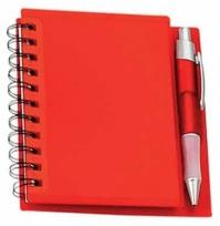 Spiral Notebook With Pen