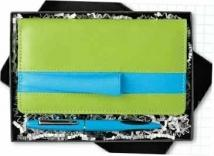 Cargo Colors Checkbook Gift Set