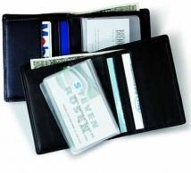 Two-Fold Wallet - Synthetic Leather