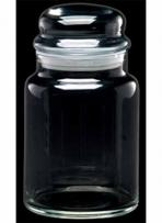 26 oz. Deep Etched Apothecary Jar