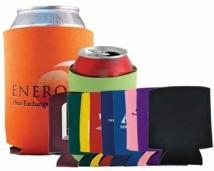 Collapsible Foam Kan Cooler - Color Surge