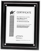 Magnetic Certificate Holder