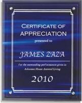 Strata Background Plaque
