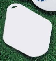 Teardrop Golf Bag Tag
