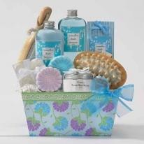 Blooming Spa Gift Basket