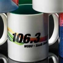 Sublimated Two-Tone Mug - Colored Inside