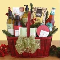 Simply Organic Spa Basket