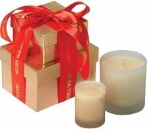 Gemini Gift Box W/2 Candles