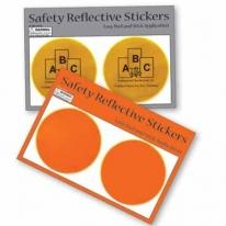 Round Reflective Safety Stickers