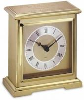 Interlude Brass & Alloy Award Clock