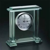 Caspian - Jade Glass Quartz Analog Clock