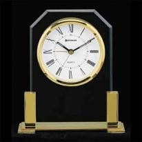 Carlisle - Solid Brass Base Clock