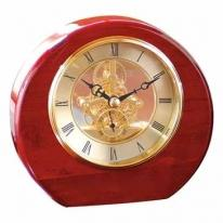 Fremont - Composed of Lustrous Rosewood Clock