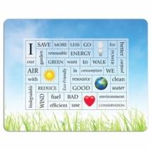 Message Magnet 40 Words W/ Picture Frame 4CP - .030 Thicknes