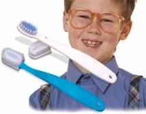 Children's Easy-Grip Toothbrush