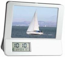 3-in-1 Calculator/Picture Frame/ LCD Digital Clock