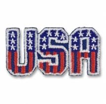 USA Stars & Stripes Mini Applique