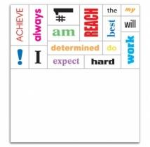 Message Magnet 16 Words - .025 Thickness
