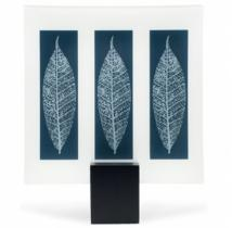 Designer Glass Plate of 'Autumn Leaf' Leaves