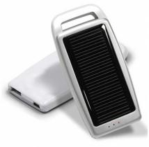 Dual Power (USB/Solar) Portable Battery Charger