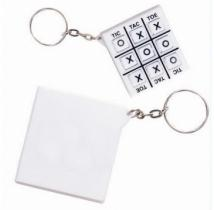 Tic-Tac-Toe Key Chain