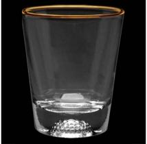 1.5 oz Deep Etched Golf Sport Shot Glass